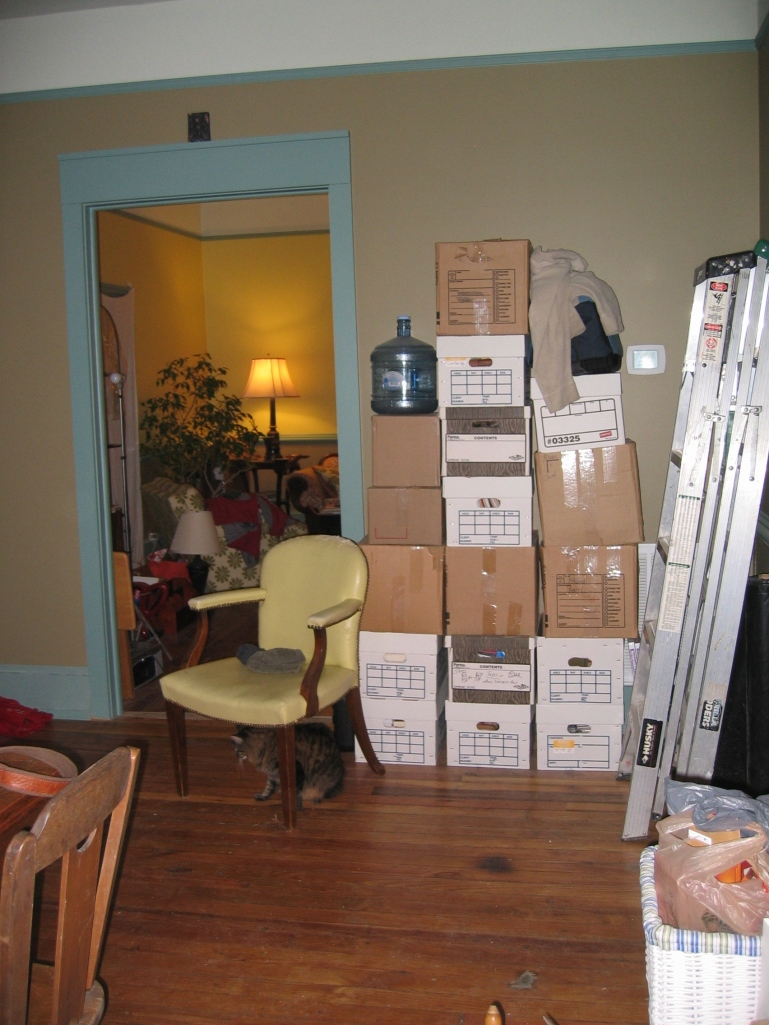 Did I mention we have boxes?